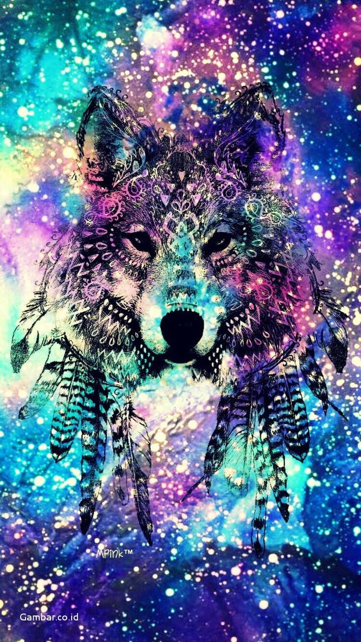 Wolf Of Colors wallpaper by Black0rWhite - 03 - Free on ZEDGE™