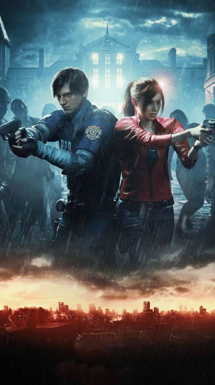 Resident Evil 2 Remake Phone Wallpaper Ranktechnology