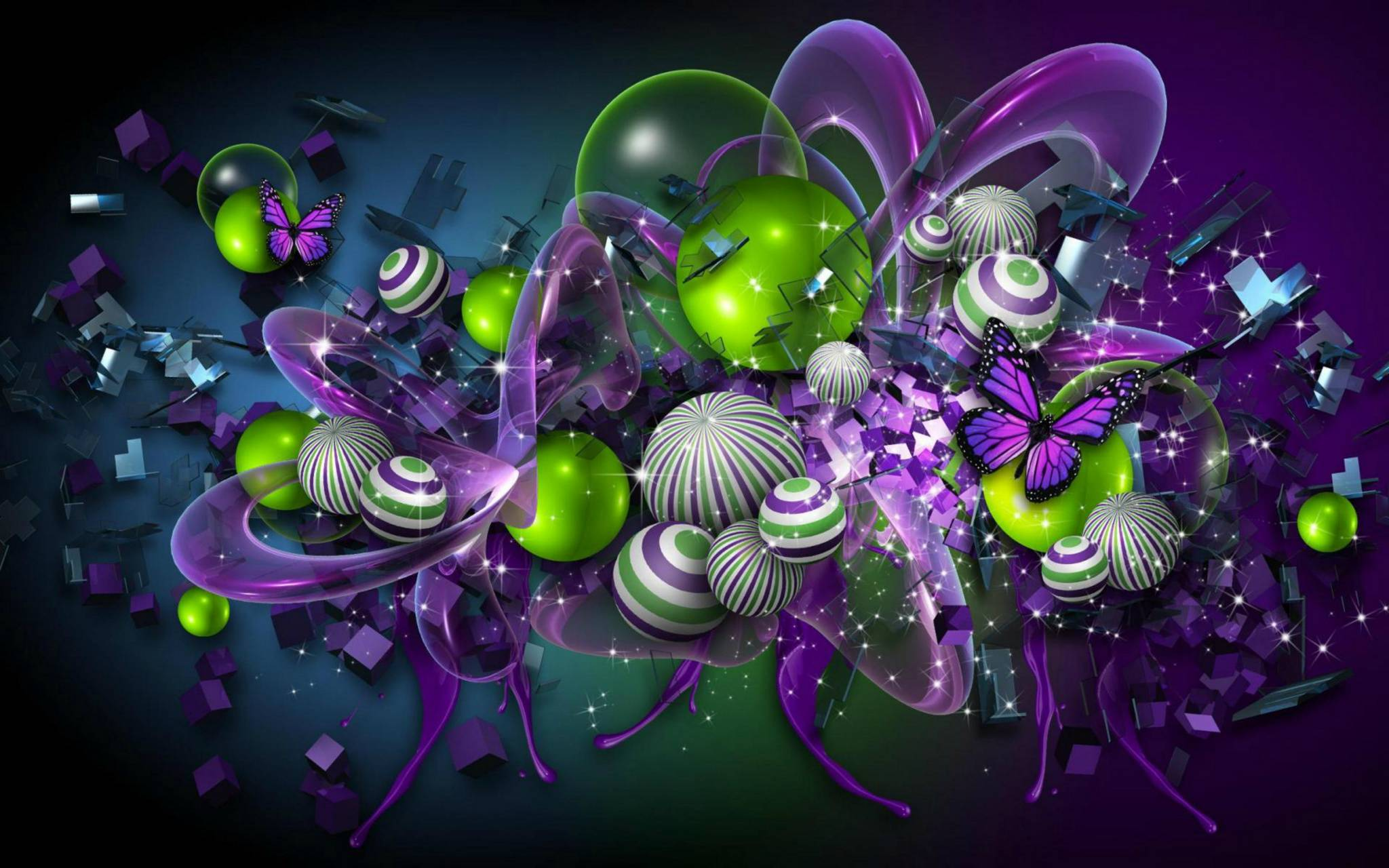 hd colorful abstract