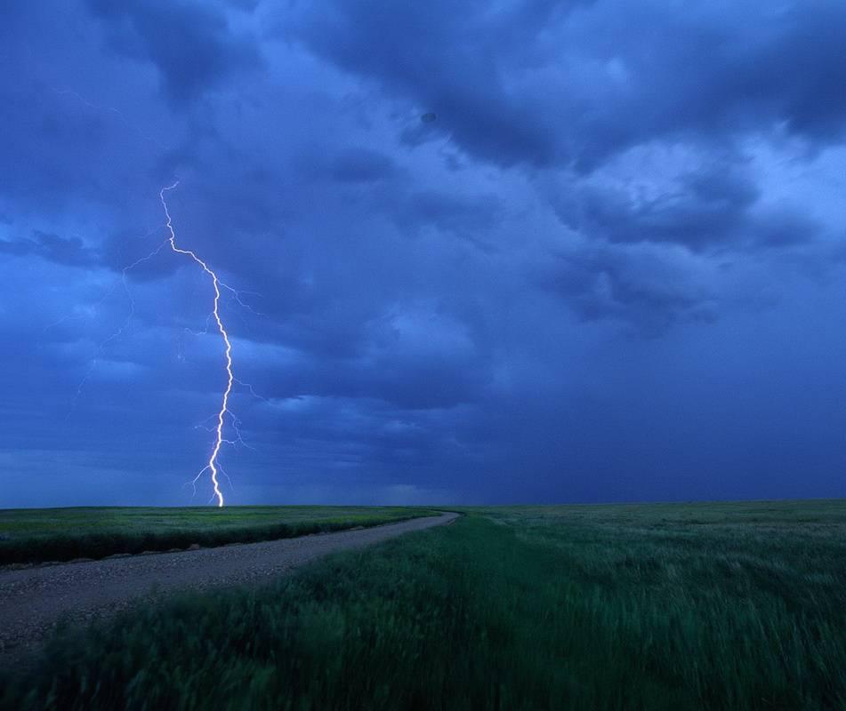 Storm Over Prairies
