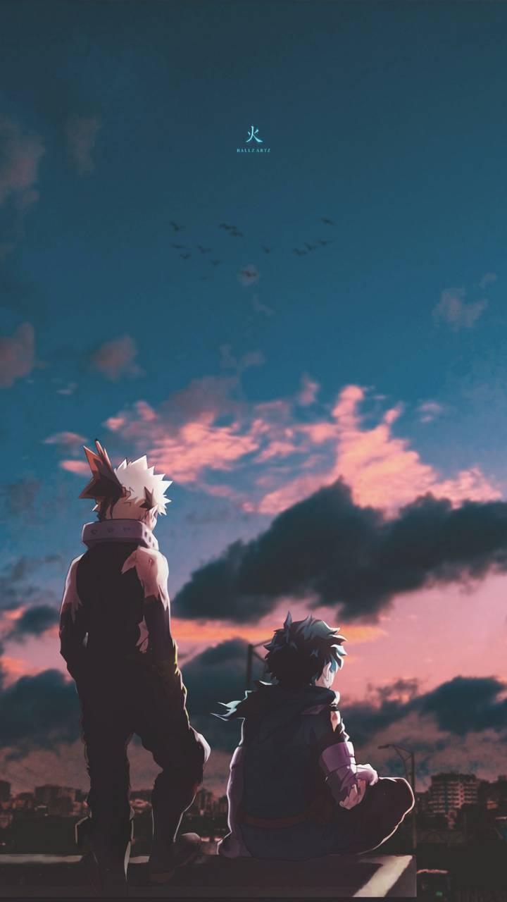 Bakugou and Deku