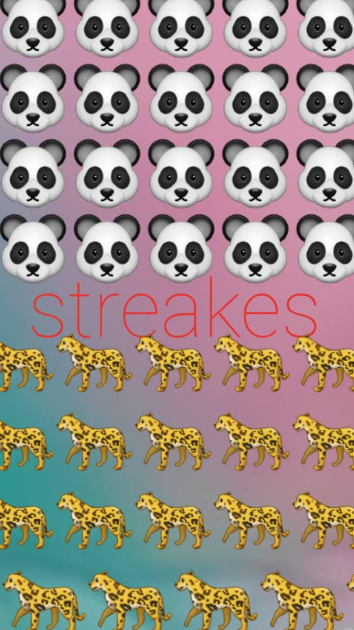 Panda streaks