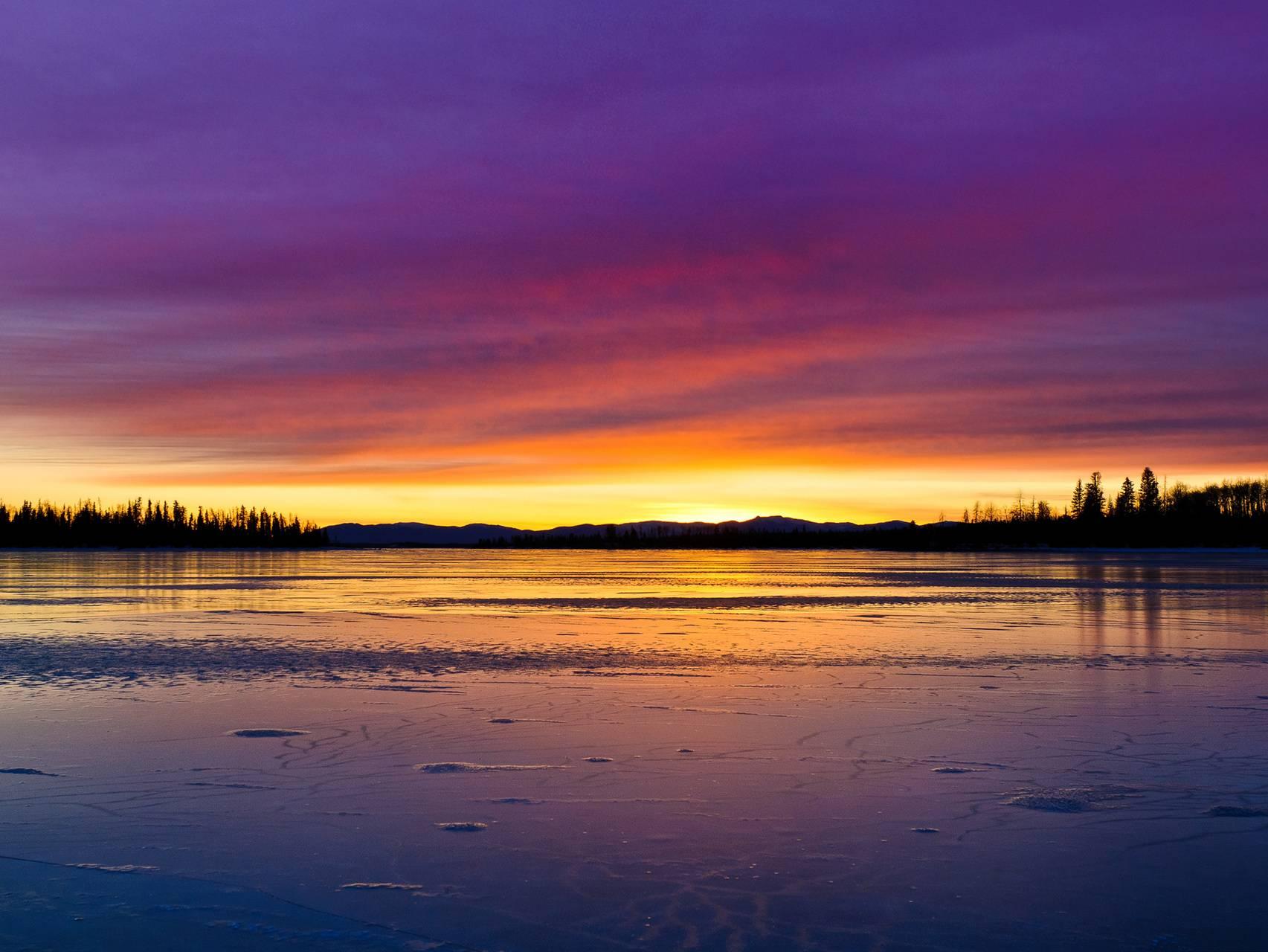 Lake -sunset
