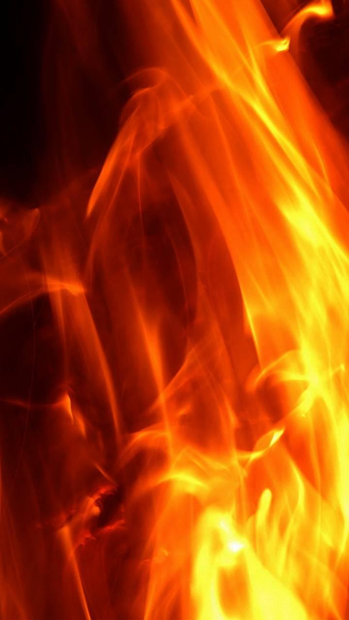 Fire Blurred