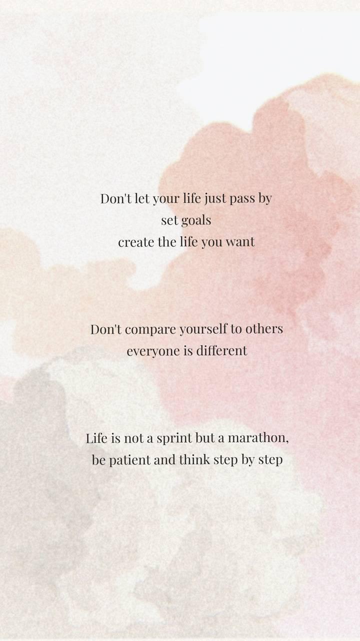 pastel life quotes