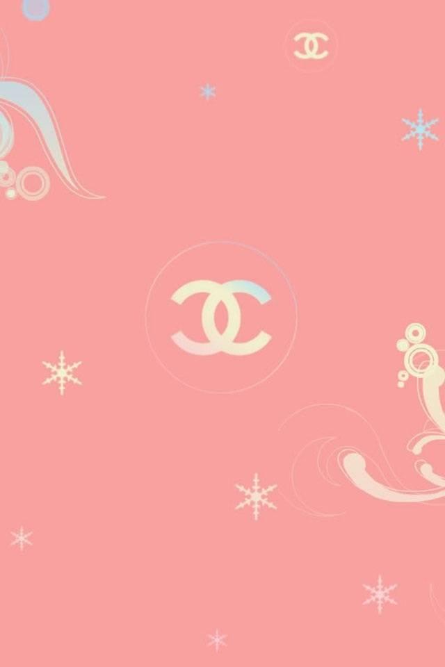 Chanel Wallpaper Pink - Artistic Joyful