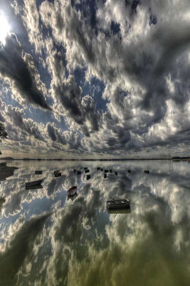 3d Dark Clouds