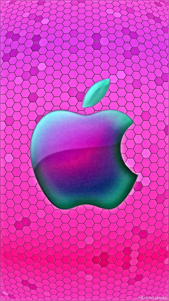 Apple Honeycomb Pink