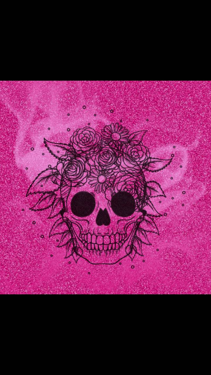 Pink Skull Wallpaper By Lauraellenw C8 Free On Zedge