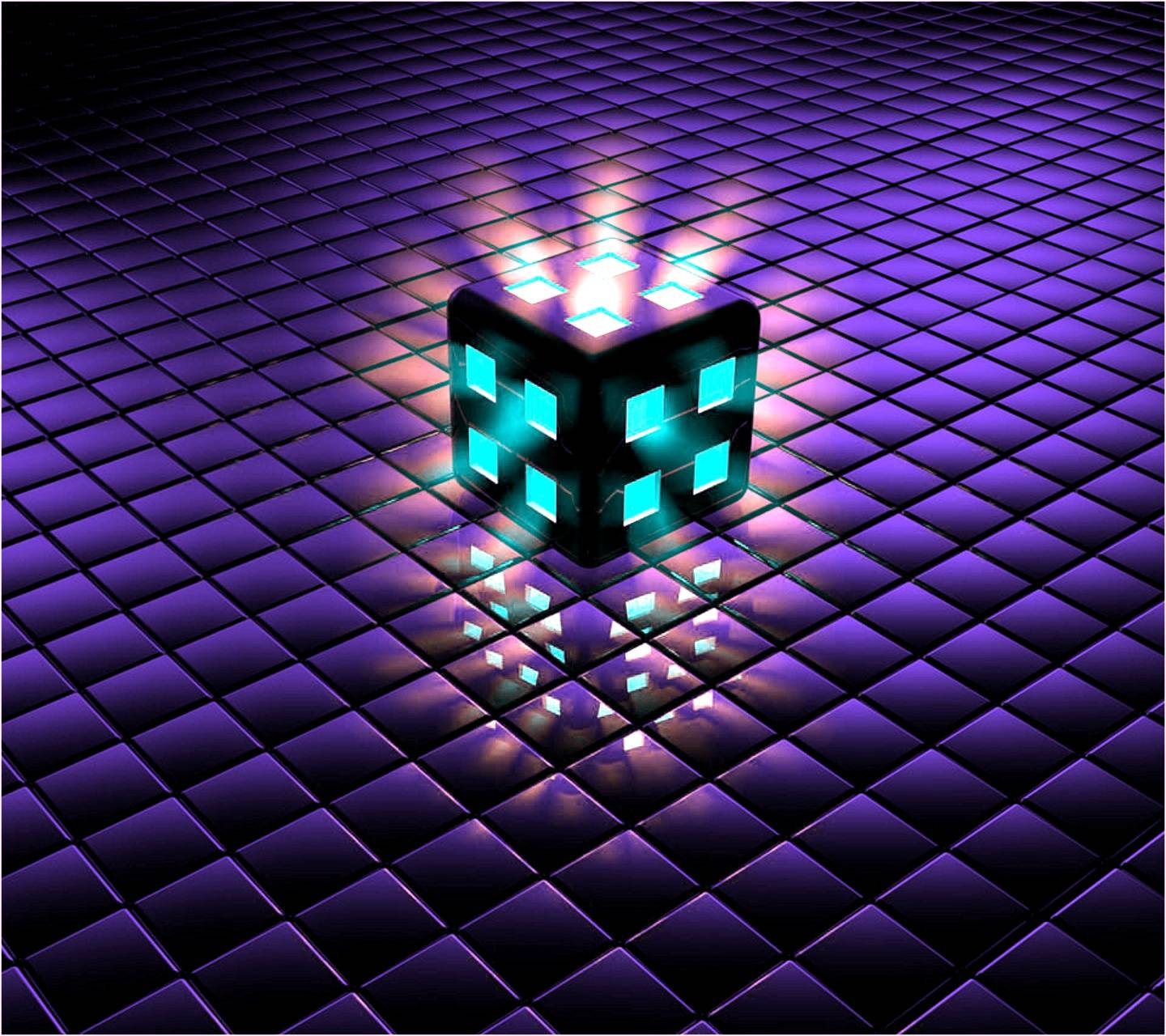 Lighted Cube