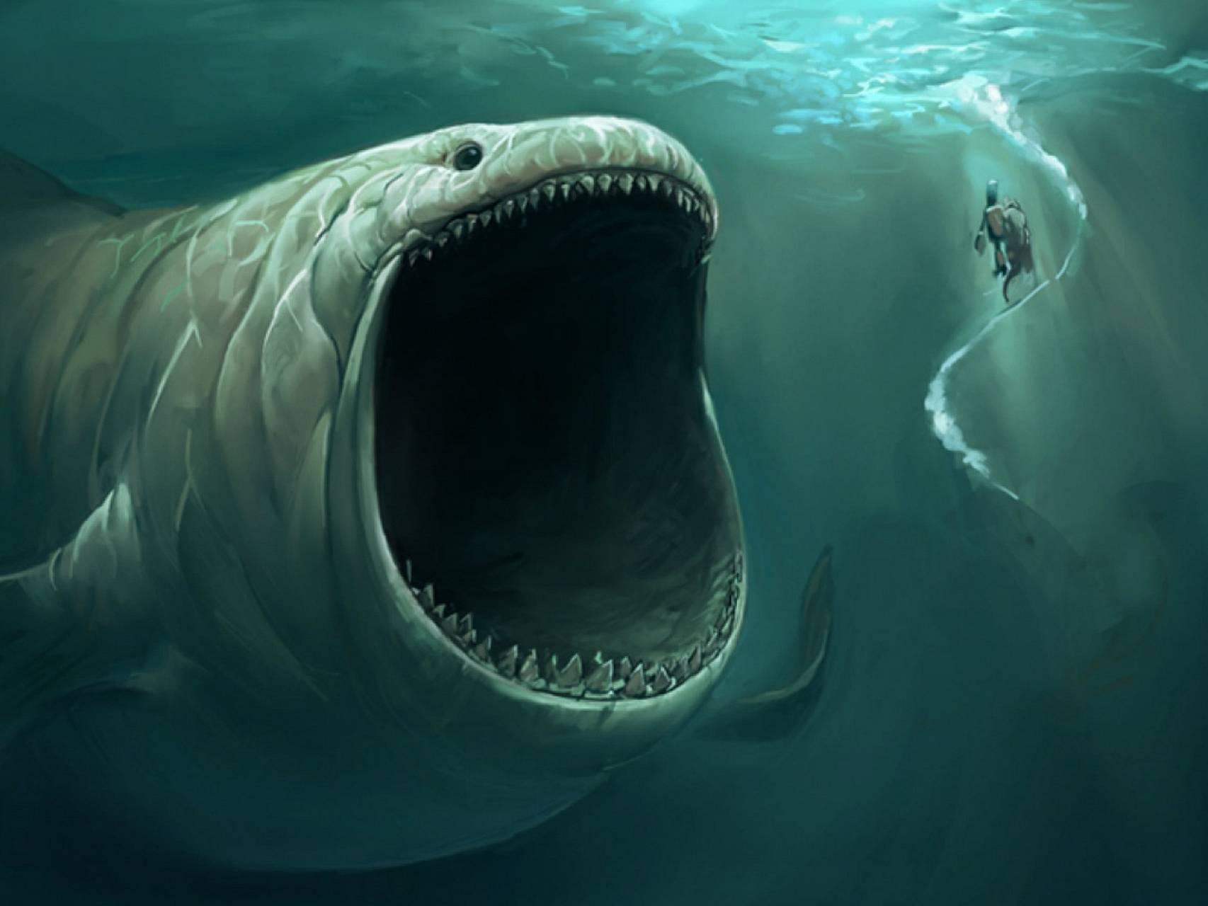 Giant Water Monster