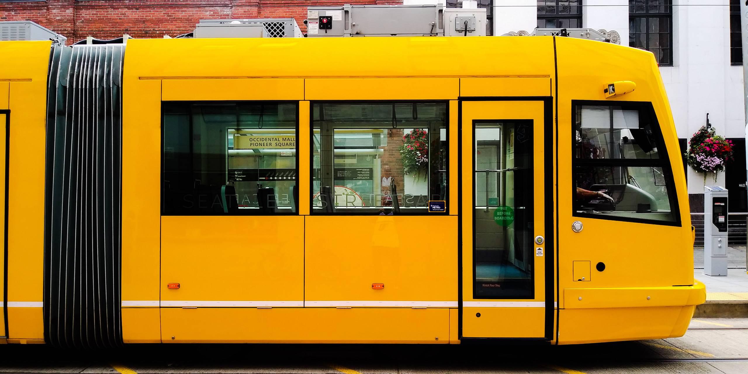 Yellow light rail