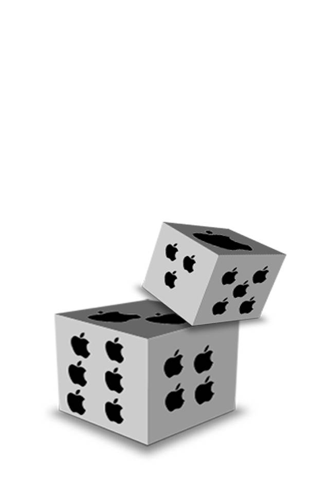 Apple Plane Dice