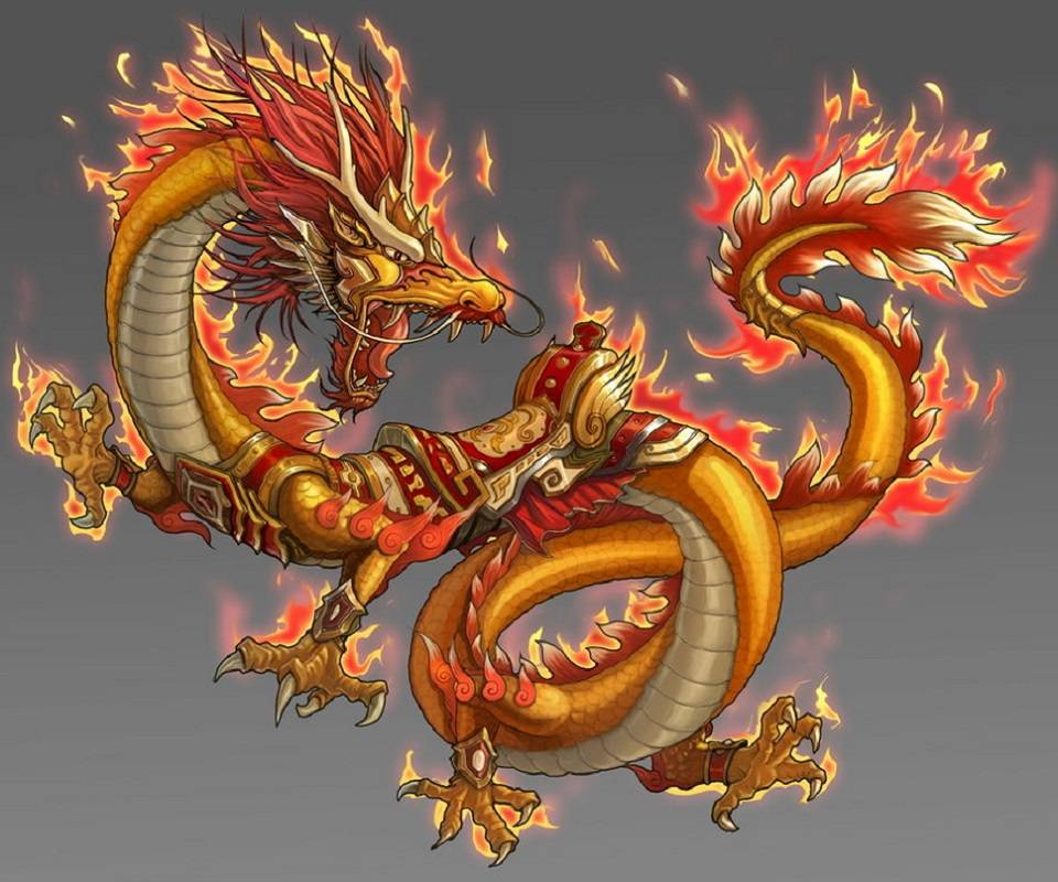 Inflamed Dragon