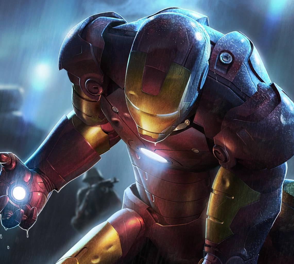 Iron Man In Rain