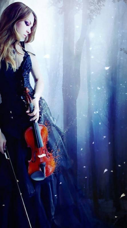 Violin girl Wallpapers - Free by ZEDGE™