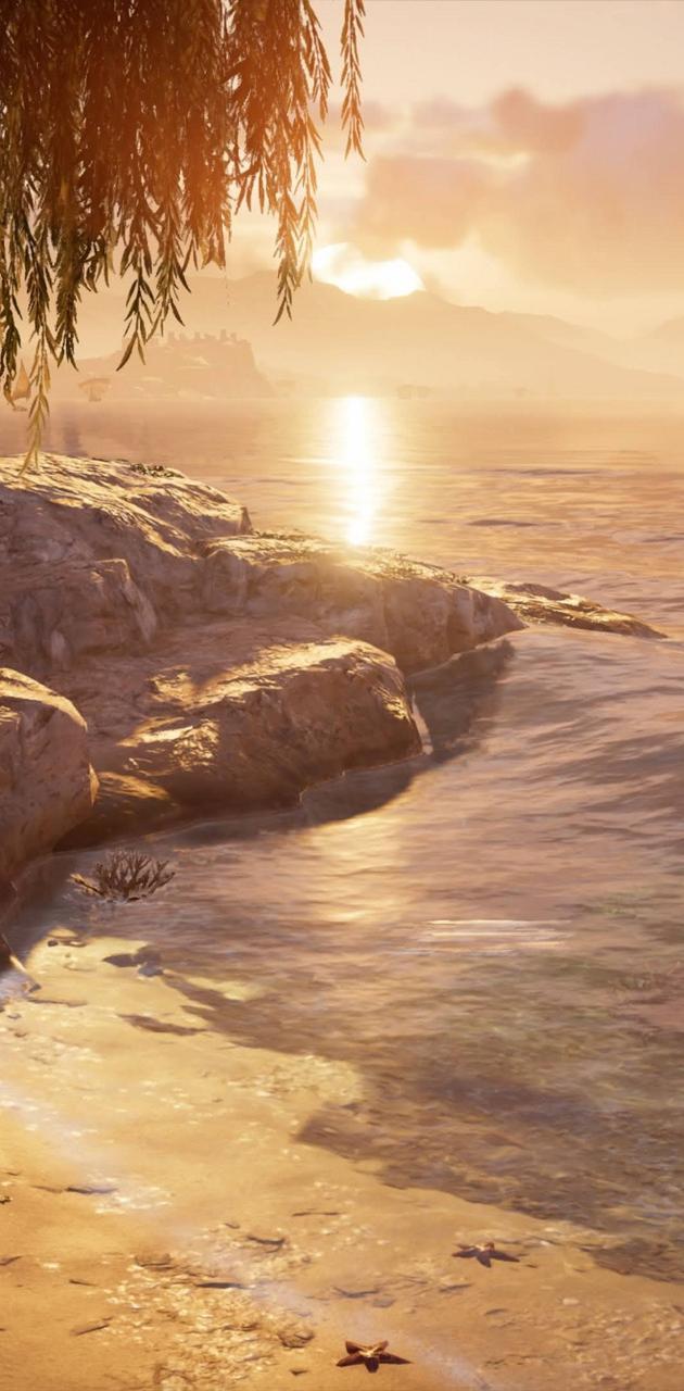 AC Origins Beach