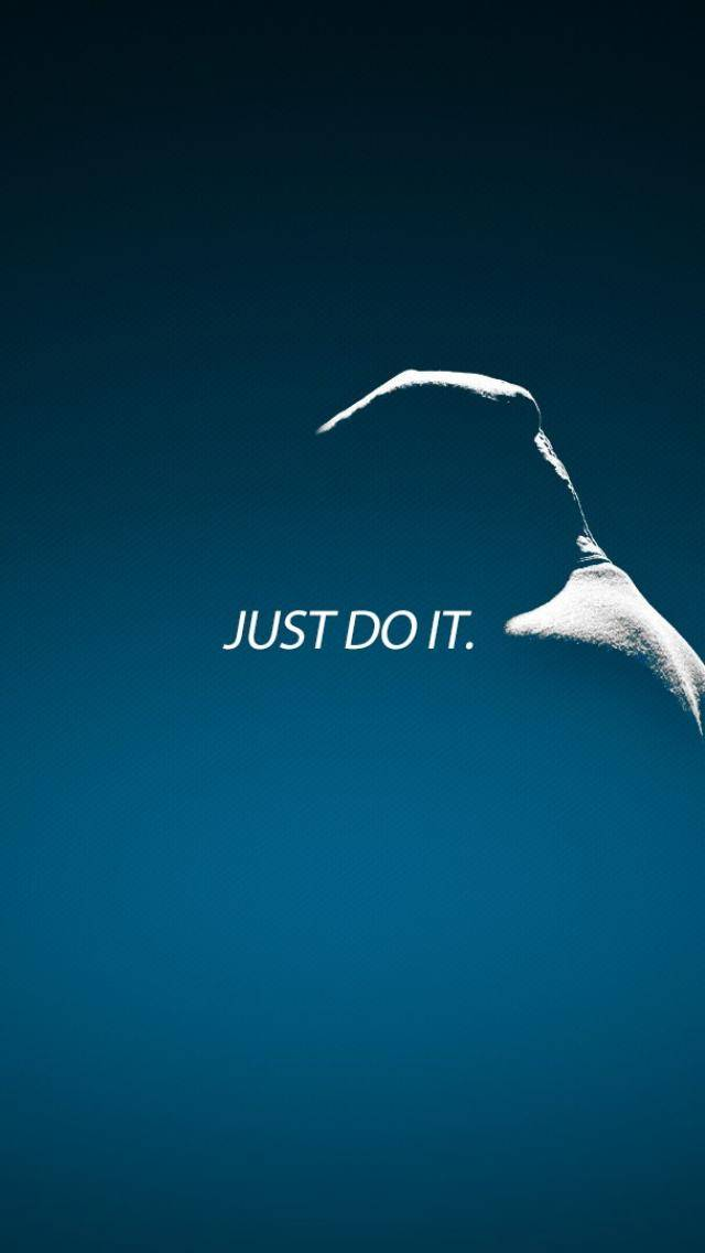 Just Do It Iphone 5