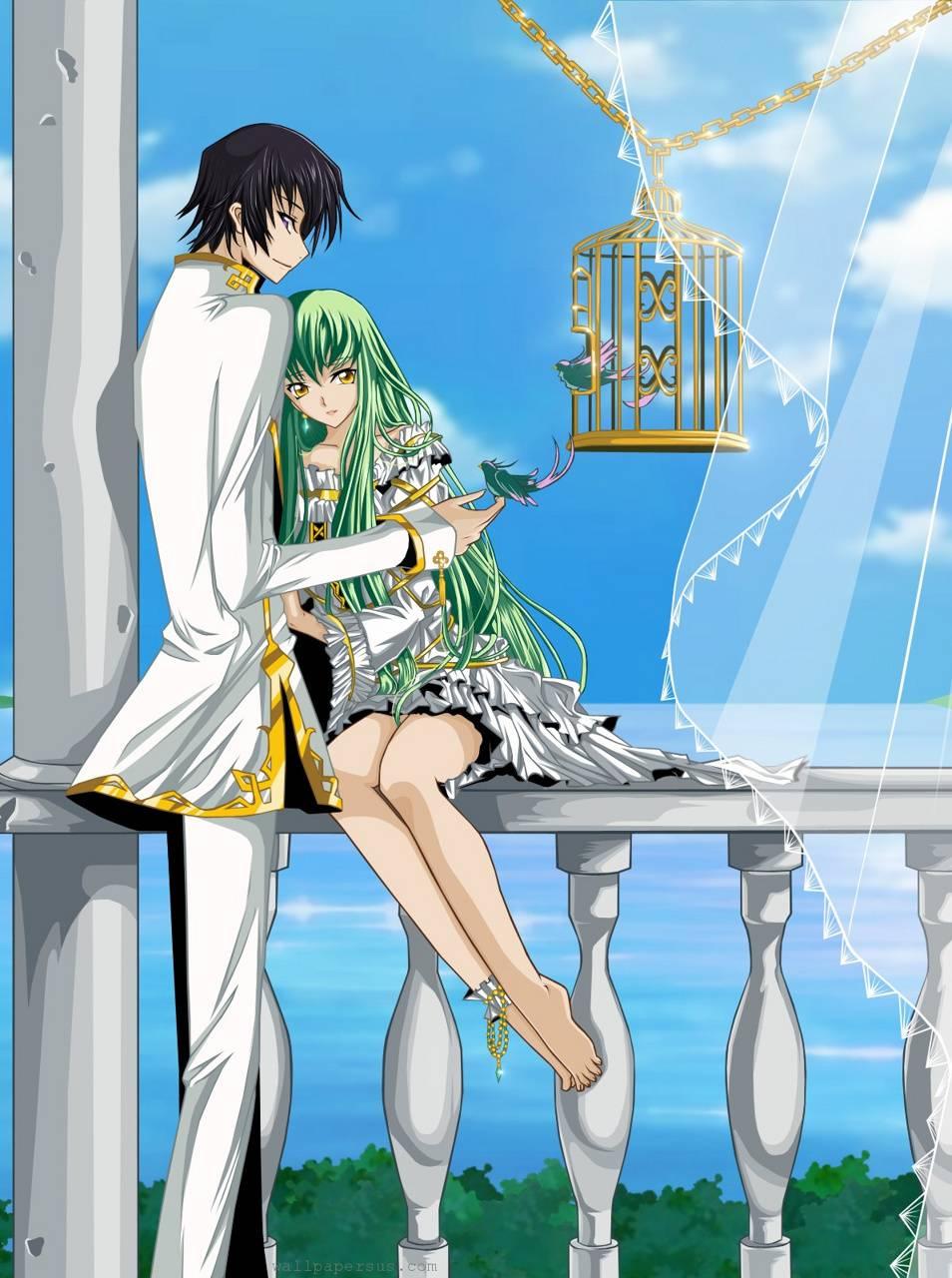 animie couple