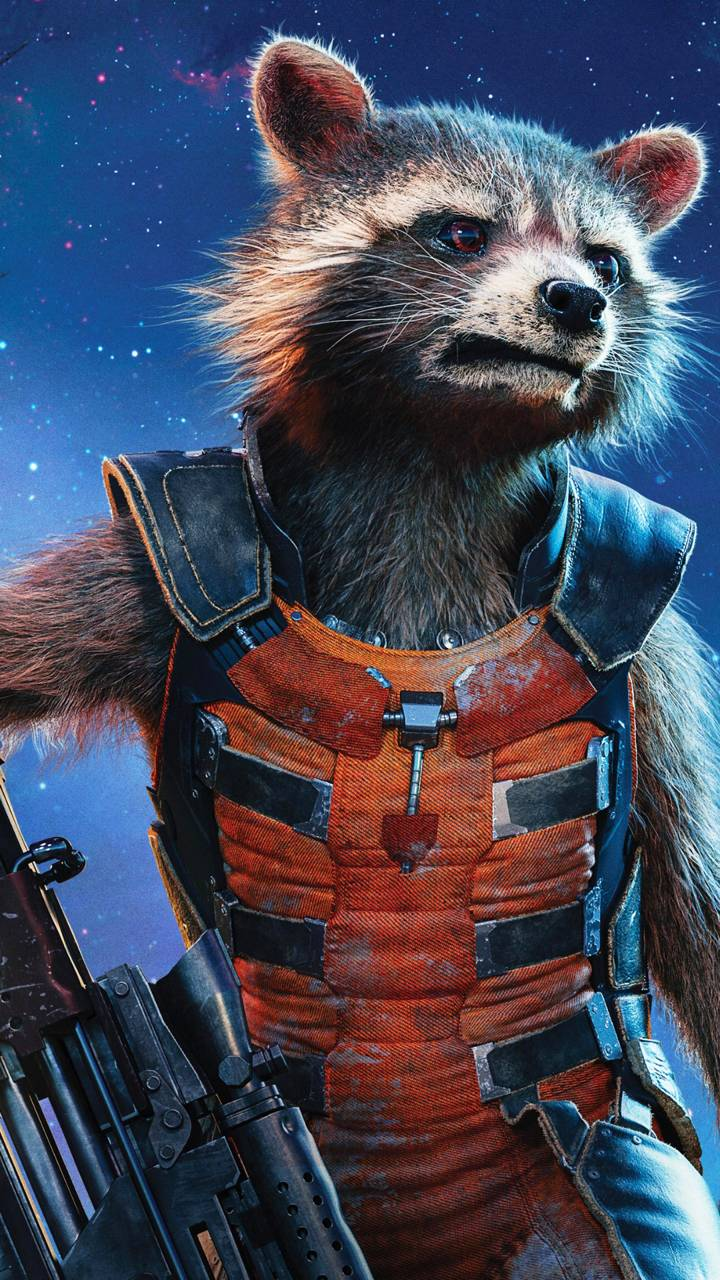Rocket Raccoon Wallpaper By Djweeman6
