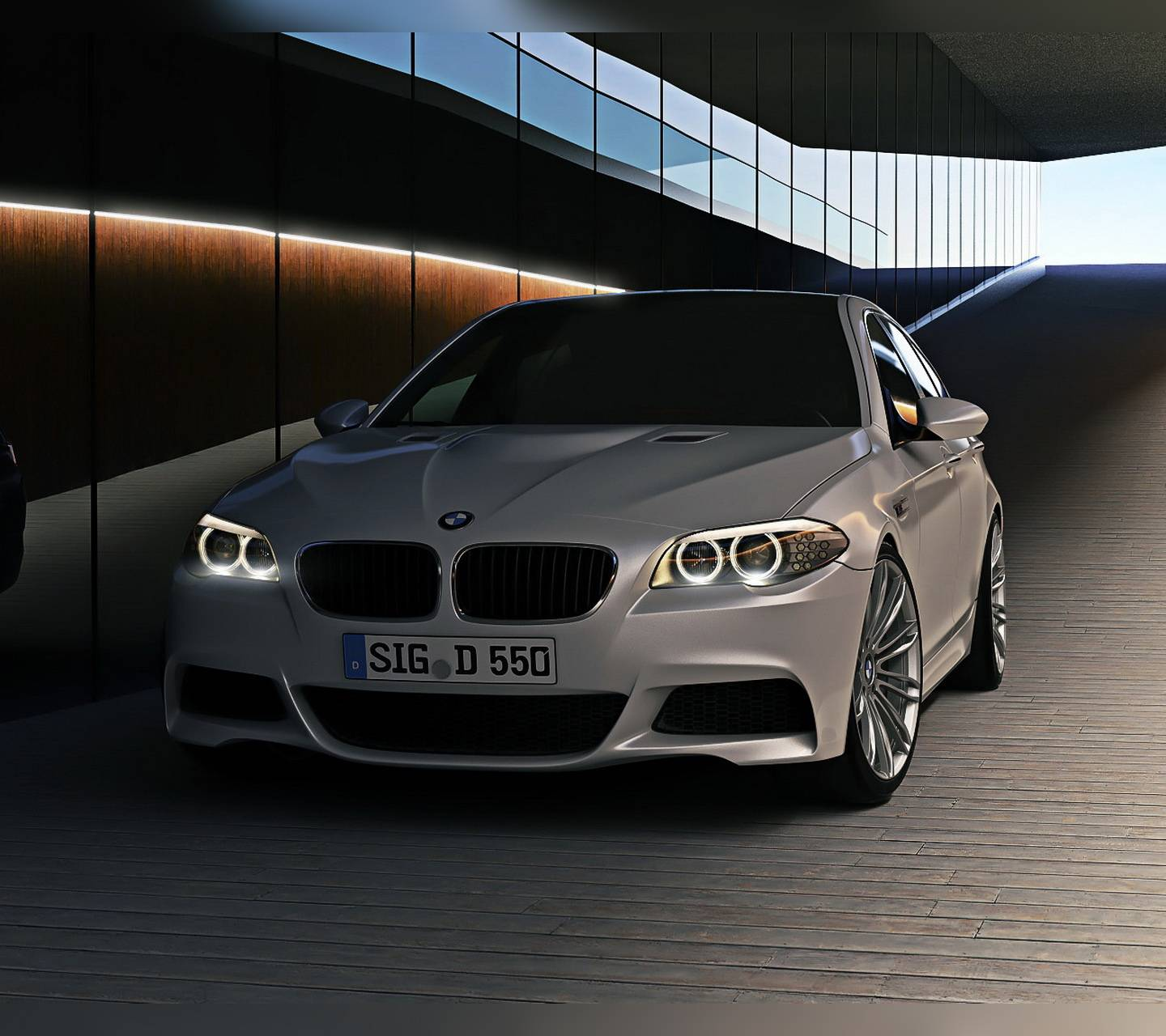 Bmw Wallpapers And Backgrounds: BMW M5 Wallpaper By P3TR1T