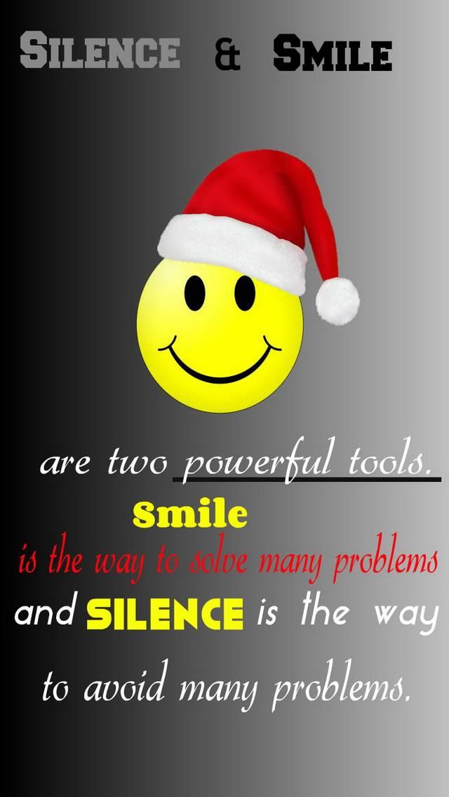 Silence Smile