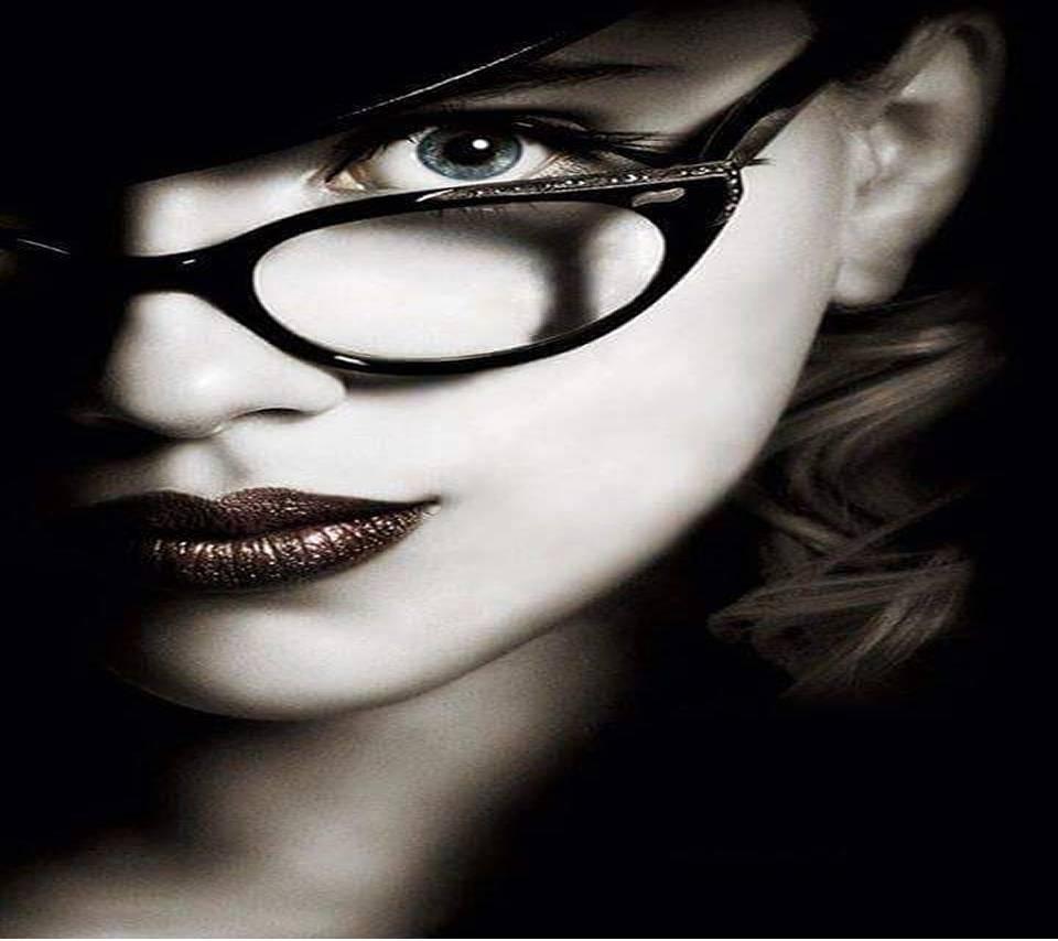 glasses girl