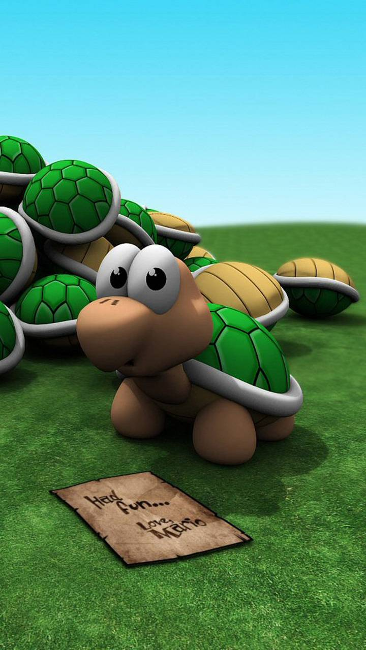 tartaruga mario