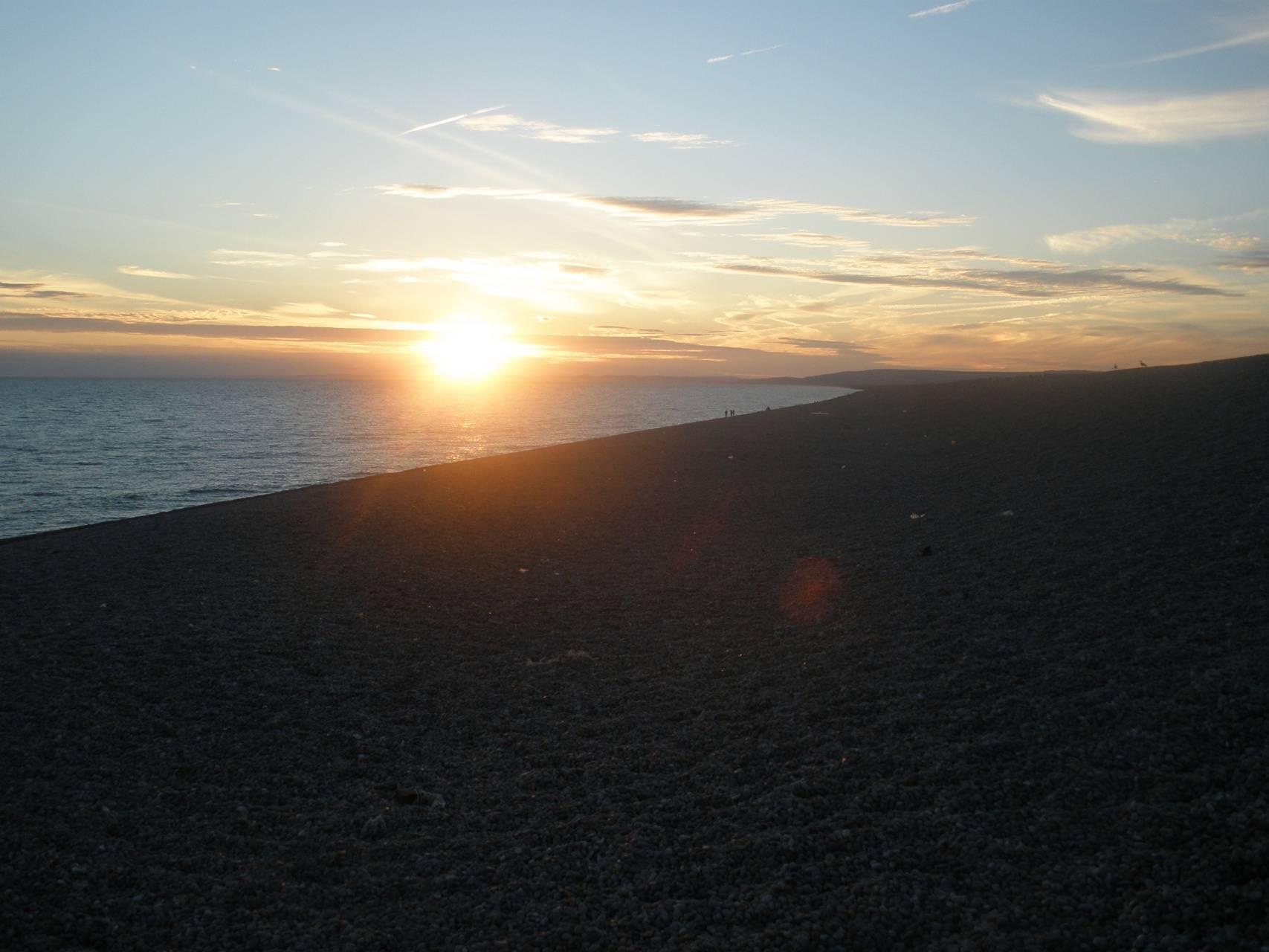 Chesil sundown