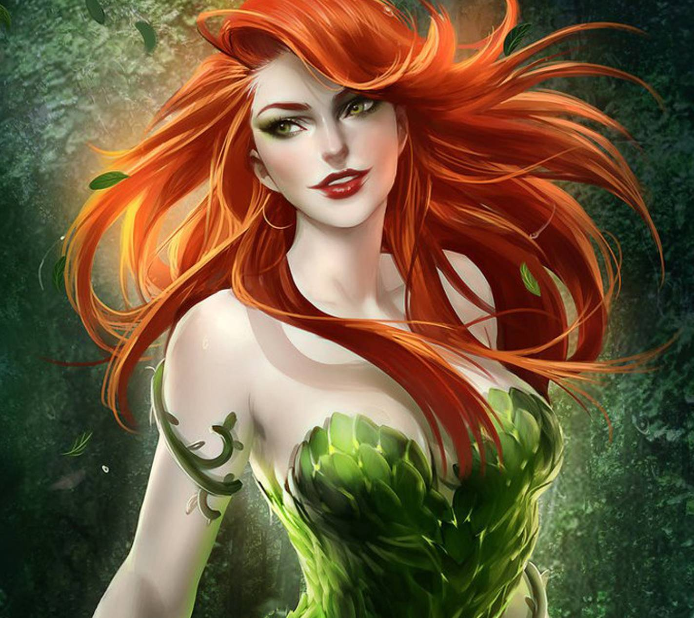 poison ivy wallpaper by zeusimages 65 free on zedge poison ivy wallpaper by zeusimages 65