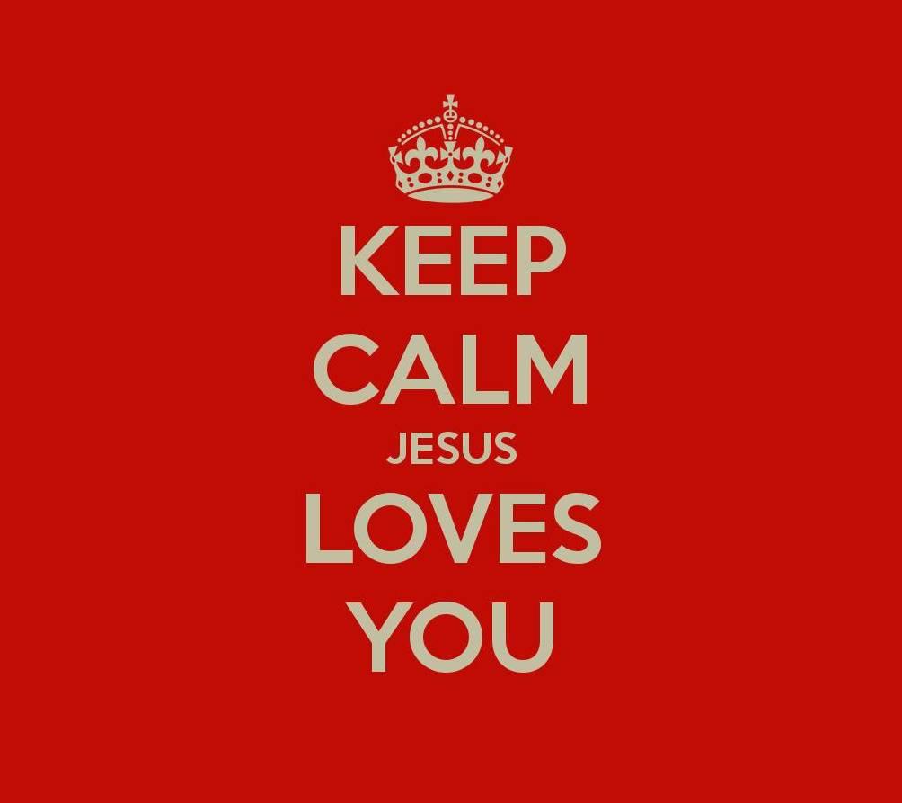 Keep Calm Jesus
