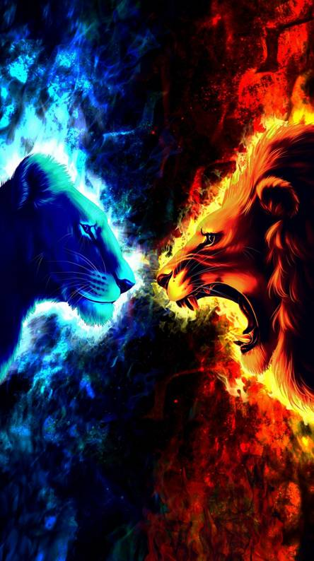 Fire and ice dragons Ringtones and Wallpapers - Free by ZEDGE™