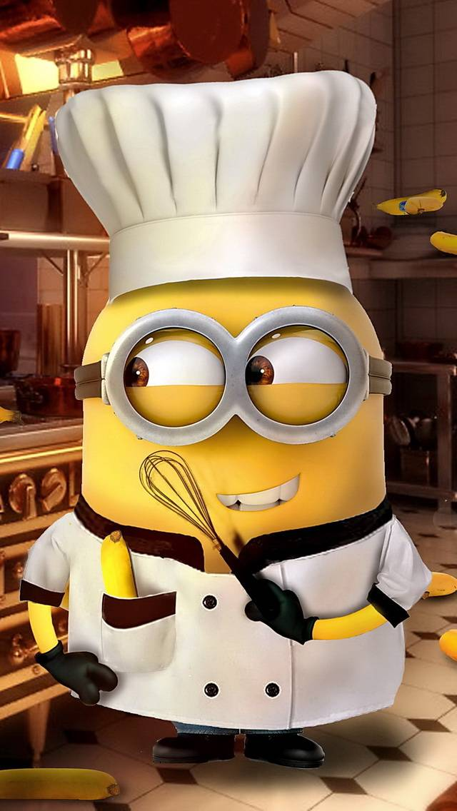 Minion Chef Wallpaper By DJ Ivory