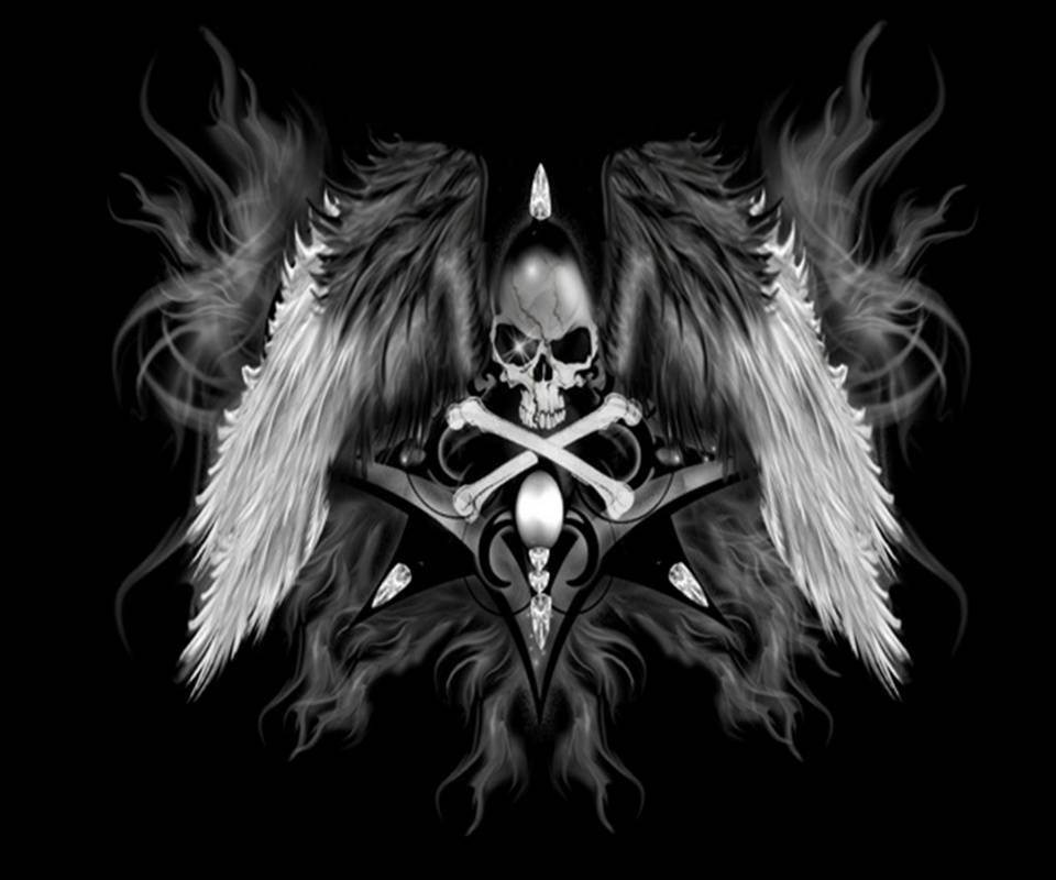 Skull Wings