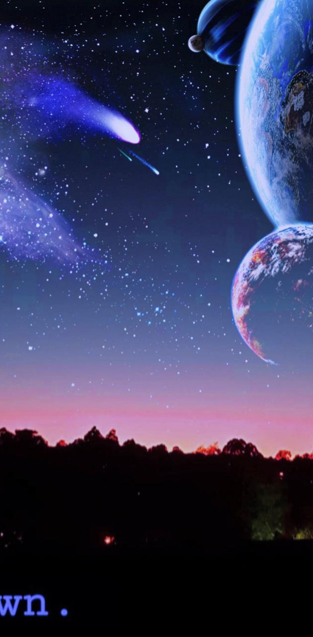 Galaxy horizon