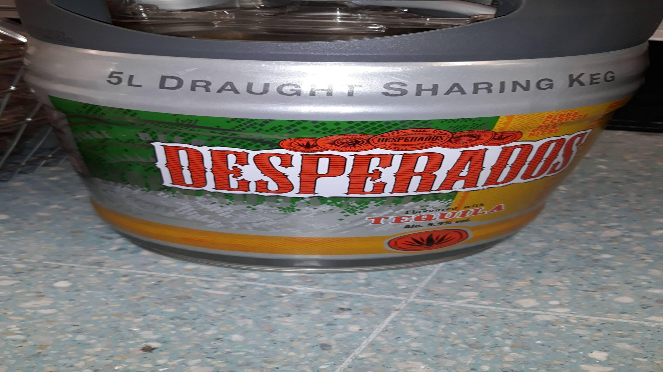 Desperado keg