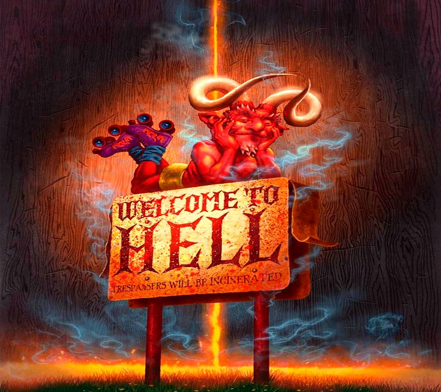 Welcome To Hell Wallpaper By Savanna 45 Free On Zedge
