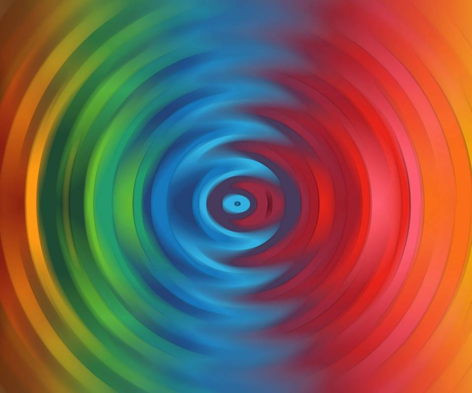 Colored Ripples
