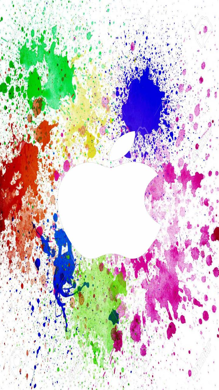 colorfull apple