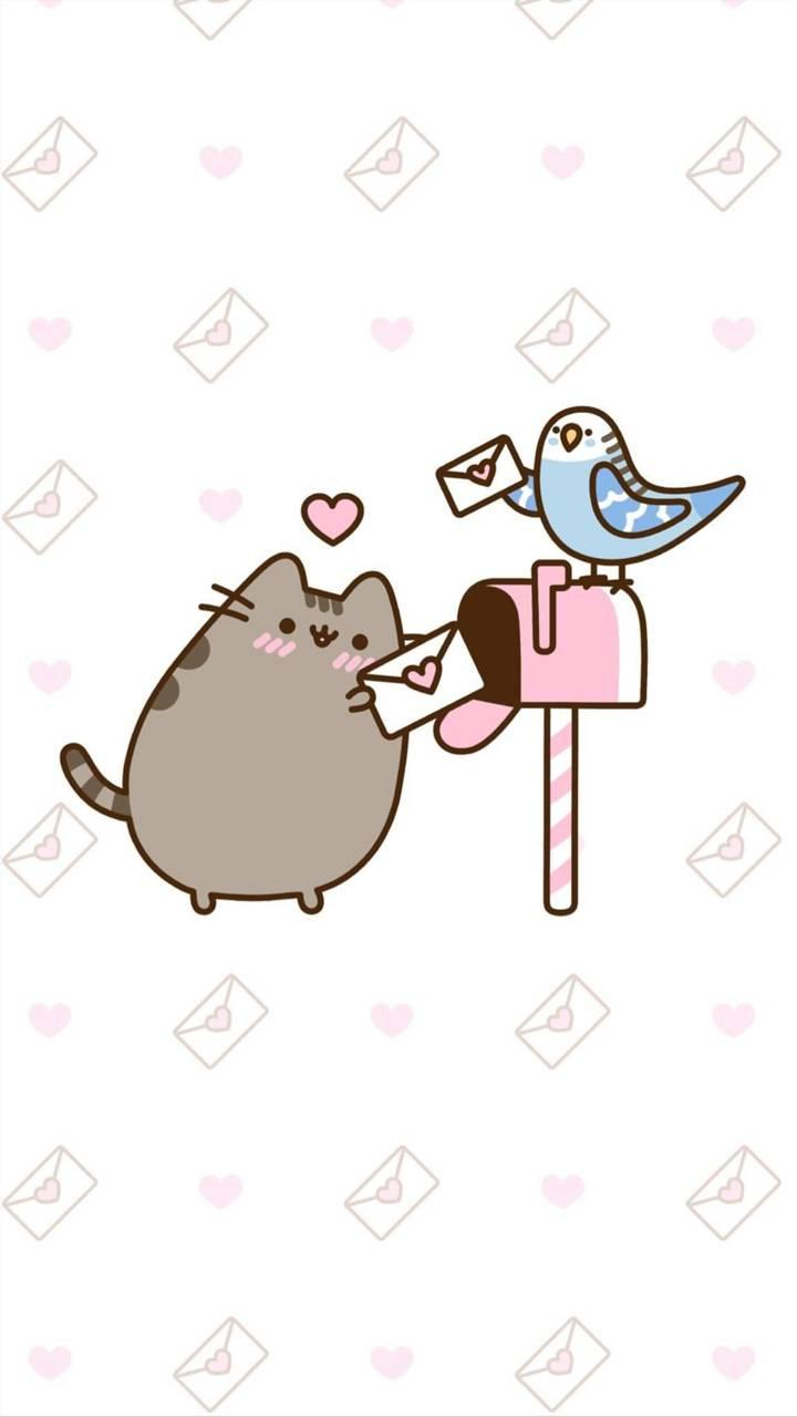 Pusheen Love Mail