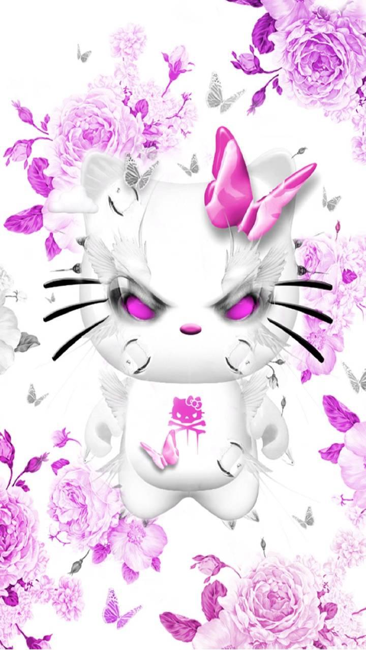 Hello Kitty Dark Wallpaper By Konig F4 Free On Zedge