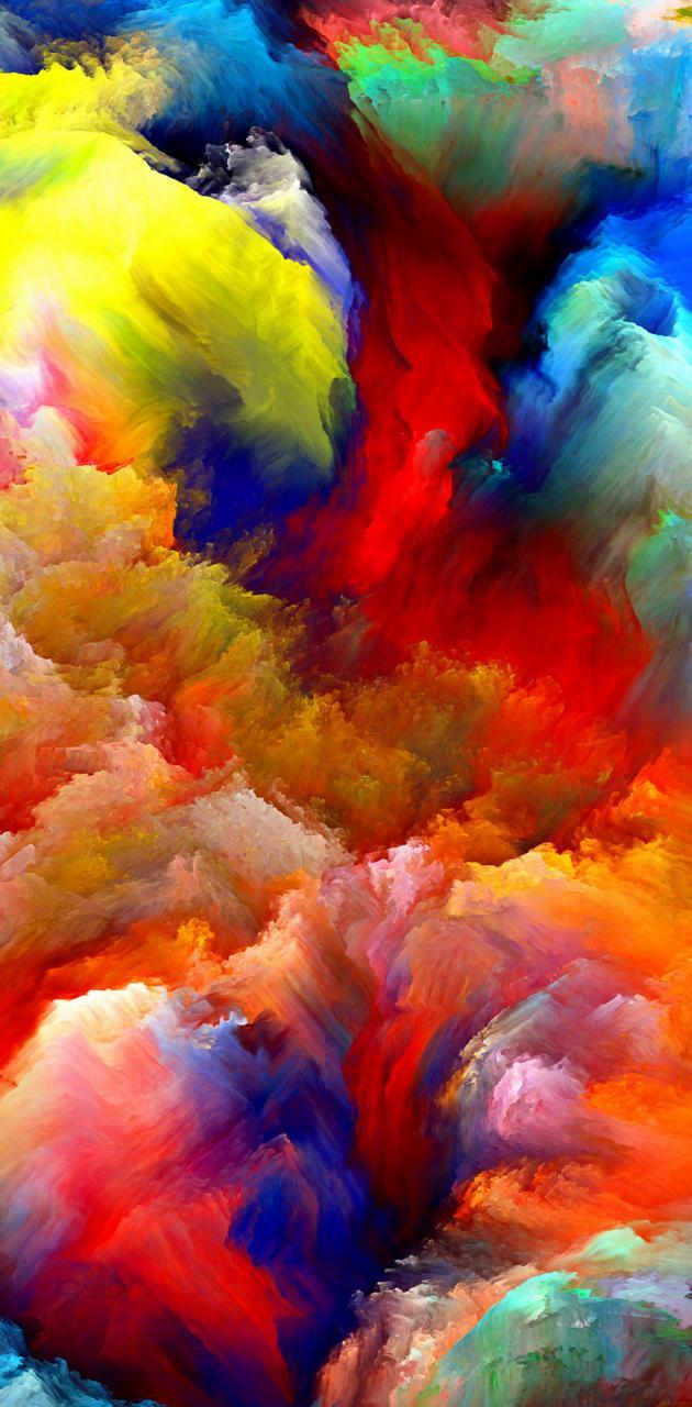 Colours smoke bomb