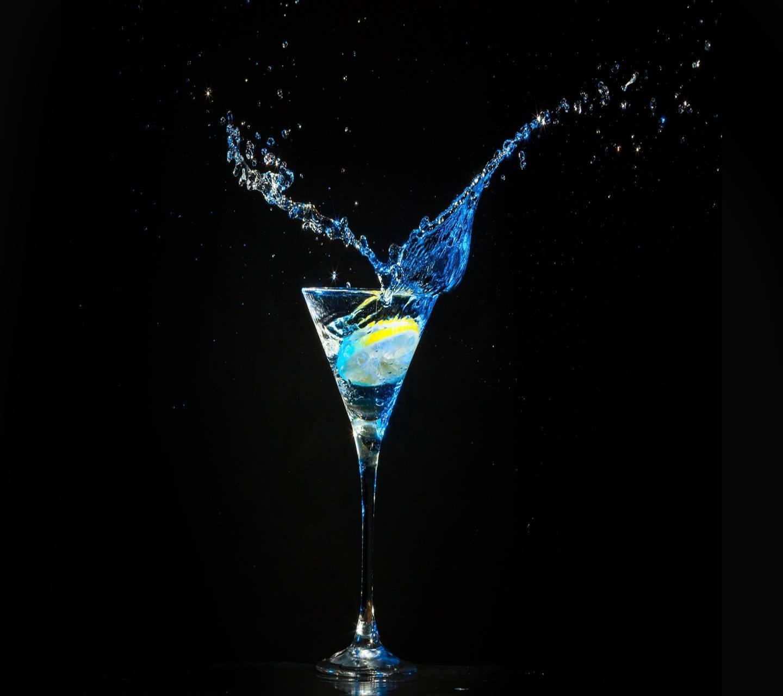 Blue Cocktail Wallpaper By _Savanna_