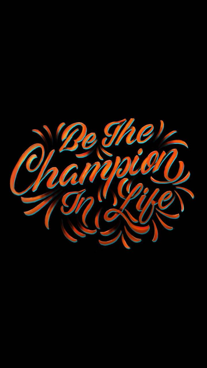 Champion Typography