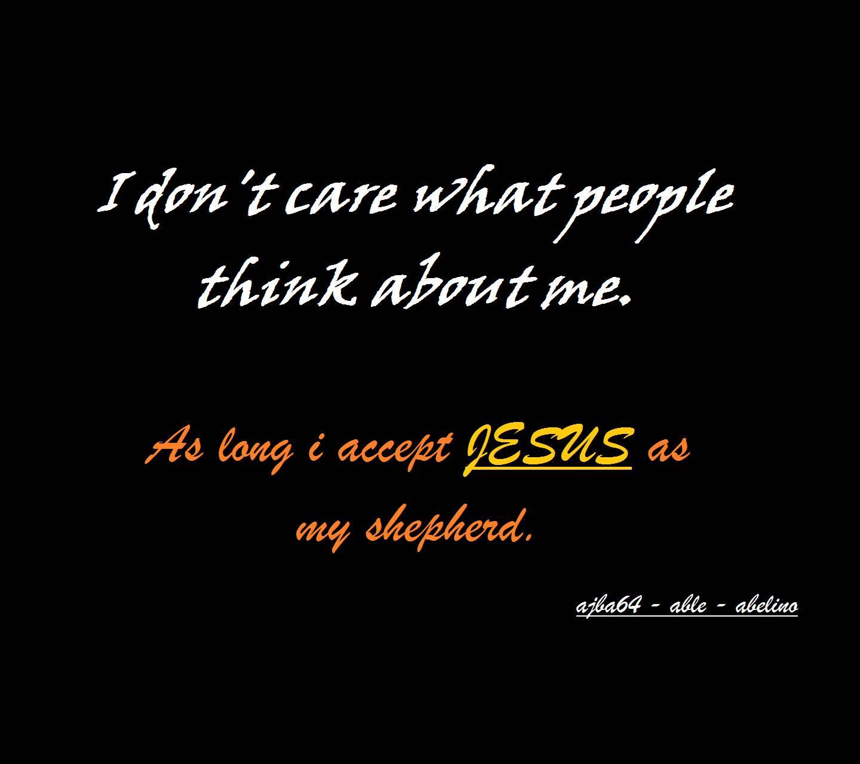 my Faith in JESUS