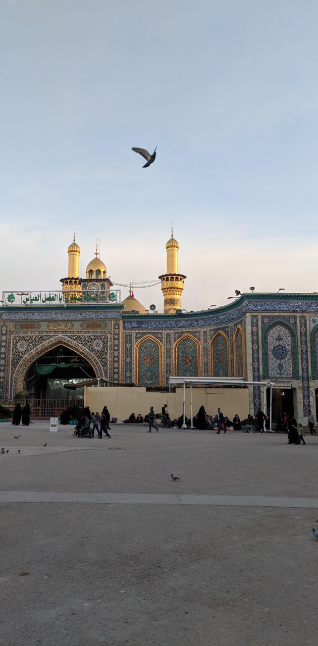 Holy shrine Abbas