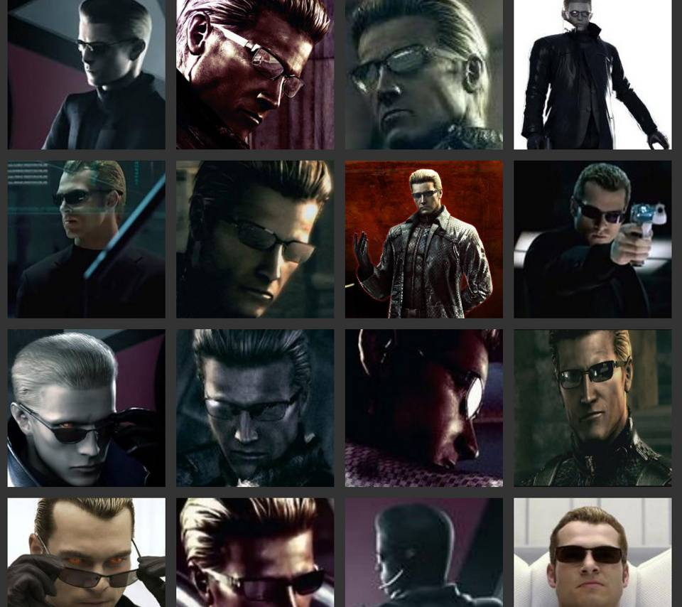 Wesker Collage