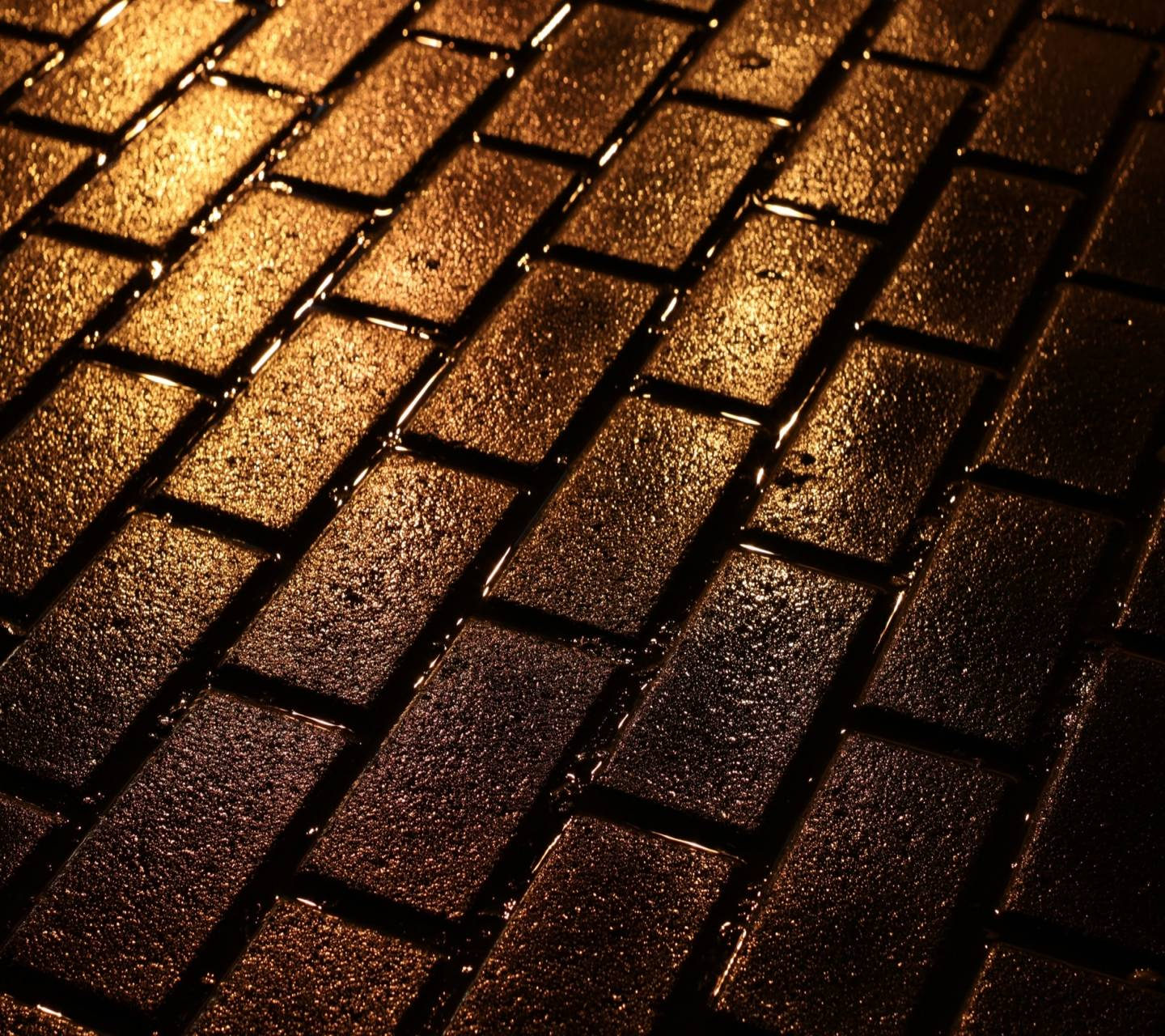 Golden Bricks Wallpaper by Mr__Wanted - ab