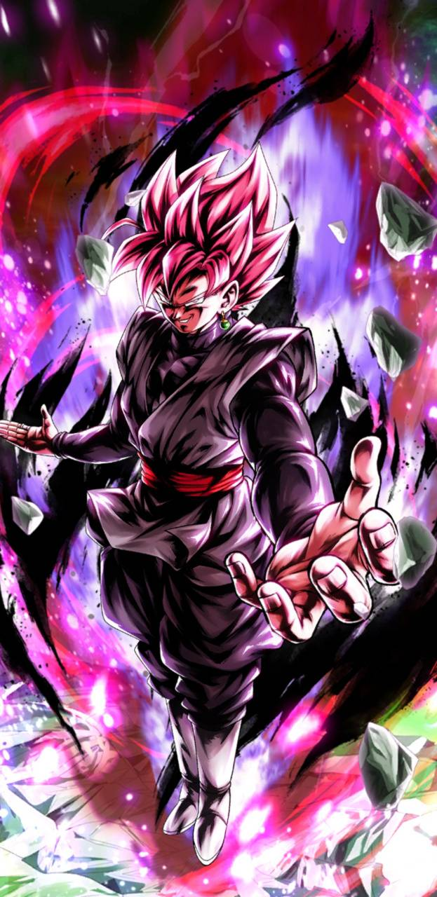 Goku Black Rose Wallpaper By Crazym39 95 Free On Zedge