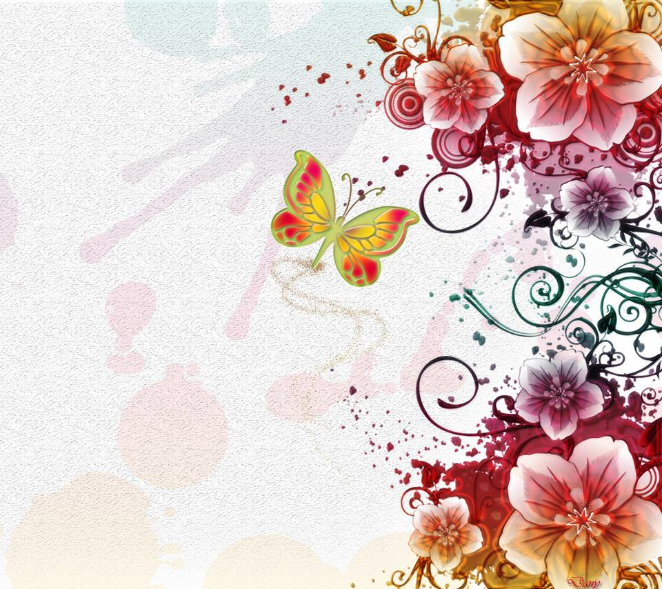 Abstract Floral Wallpaper By Buckeyes123020 4c Free On Zedge